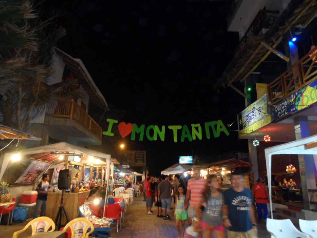 Montanita night