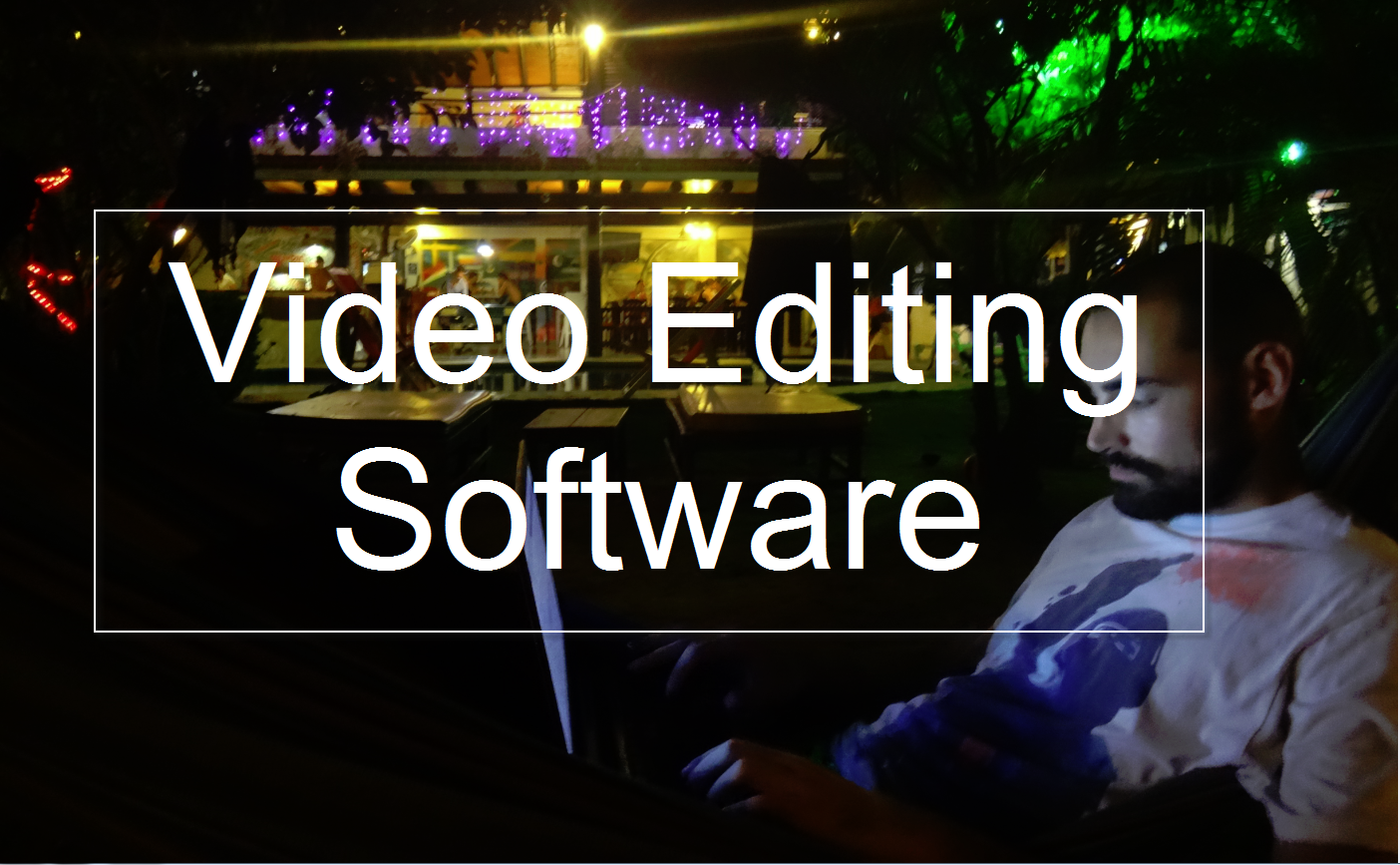 video editing software travel