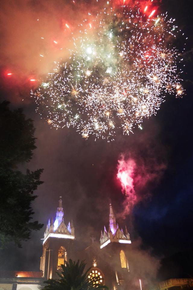 ecuador fireworks