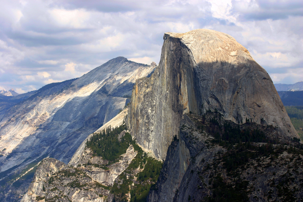 glacier point half dome