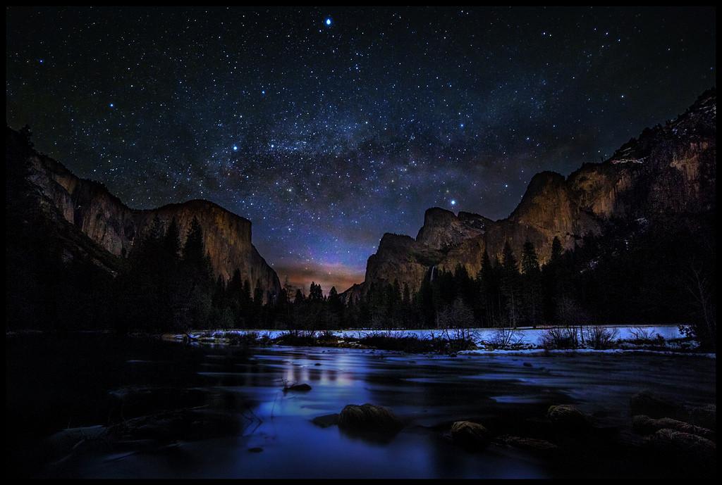 yosemite under the stars